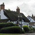 Thatch Roof House by Joyce Woodhouse