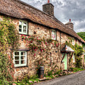 Thatched Cottage 03 by Beverly Cash