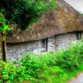 Thatched Cottage 04 by Beverly Cash