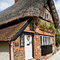 Thatched Cottages In Chawton 4 by Shirley Mitchell