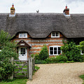 Thatched Cottages Of Hampshire 11 by Shirley Mitchell