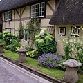 Thatched Cottages Of Hampshire 24 by Shirley Mitchell
