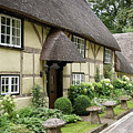 Thatched Cottages Of Hampshire 25 by Shirley Mitchell