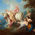 The Abduction Of Europa by Jean-Francois Detroy