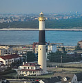 The Absecon Lighthouse In Atlantic City New Jersey by Bill Cannon