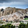The Acropolis - Athens Greece by Debra Martz