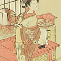 The Actor Segawa Kikunojo II, Possibly As Princess Ayaori In The Play Ima O Sakari Suehiro Genji  by Ippitsusai Buncho