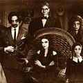 The Addams Family Sepia Version by Alessandro Della Pietra