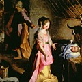 The Adoration Of The Child by Federico Fiori Barocci or Baroccio