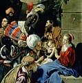 The Adoration Of The Kings by Fray Juan Batista Maino