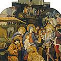 The Adoration Of The Magi by Benvenuto Di Giovanni
