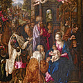 The Adoration Of The Magi by Hendrick de Clerck