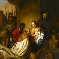 The Adoration Of The Magi by Jan de Bray