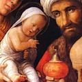 The Adoration Of The Magi by Mantegna Andrea