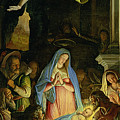 The Adoration Of The Shepherds by Federico Zuccaro