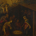 The Adoration Of The Shepherds by PixBreak Art