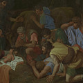 The Adoration Of The Shepherds by Nicholas Poussin