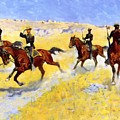 The Advance 1898 by Remington Frederic