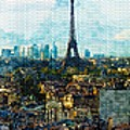 The Aesthetic Beauty Of Paris Tranquil Landscape by Don Kuing