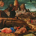 The Agony In The Garden 1455 by Mantegna Andrea