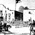 The Alamo Fort At San Antonio by American School
