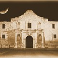 The Alamo Greeting Card by Carol Groenen