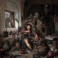 The Alchemist by Cornelis Bega