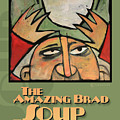 The Amazing Brad Soup Juggler  Poster by Tim Nyberg