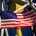Tribute To The American Flag Oil Industry by Dennis Thompson