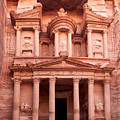 The Ancient Treasury Petra by Jane Rix