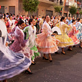 The Andalusian Fair, A Party In The Streets by Jose Luis Gomez Banet