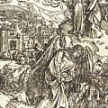 The Angel With The Key To The Bottomless Pit by Albrecht Durer