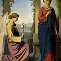 The Angelic Salutation by Eugene Emmanuel Amaury-Duval