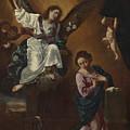The Annunciation by Flaminio Torri