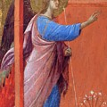 The Annunciation Fragment 1311 by Duccio