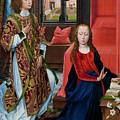 The Annunciation by Peter Barritt