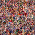 The Anonymous Croud by Denis Bouchard