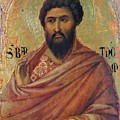 The Apostle Bartholomew 1311 by Duccio