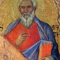 The Apostle Matthew 1311 by Duccio