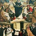 The Apotheosis Of Saint Thomas Aquinas by Francisco de Zurbaran