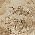 The Apotheosis Of San Vitale by Ubaldo Gandolfi