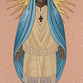 The Apparition Of St Kateri Tekakwitha 192 by William Hart McNichols