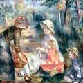 The Apple-seller by Pierre Auguste Renoir