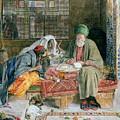 The Arab Scribe Cairo by John Frederick