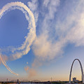 The Arch Airshow by Susan Rissi Tregoning