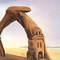 the Arch at Bonneville by Sandi Snead