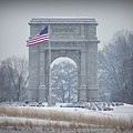 The Arch At Valley Forge by Bill Cannon