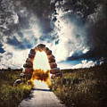 The Arch On The Edge Of Forever by Scott Norris