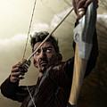 The Archer by Sandra Bauser Digital Art