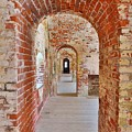 The Arches At Fort Macon North Carolina by Lisa Wooten
